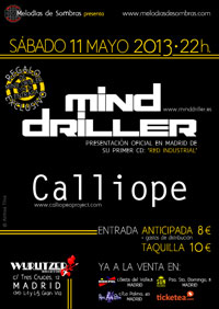 Mind Driller + Calliope 11-5-13