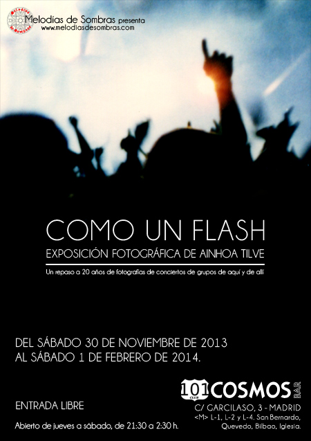 Clausura exposición 'Como un flash' 1-2-14