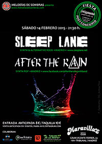 Sleep Lane + After the Rain 14-2-15