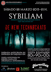 Sybiliam + De New Technocrats 28-3-15