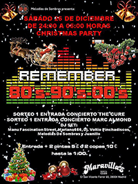 Fiesta Remember Christmas Party 26-12-15