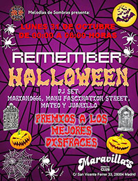 Fiesta Remember Halloween 31-10-16