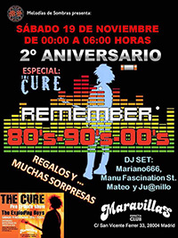 Fiesta Remember 2º Aniversario 19-11-16