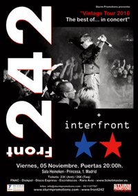 Front 242 + Interfront 05-11-2010