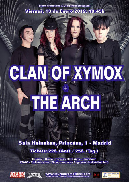 Clan Of Xymox + The Arch 13-01-2012