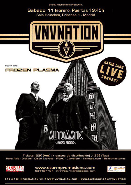 VNV Nation + Frozen Plasma 11-02-2012