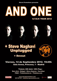 And One + Steve Naghavi + Devout 14-09-2012