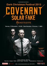 Covenant + Solar Fake + Mondträume 13-12-13
