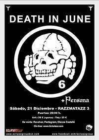 Death In June + Persona 21-12-13