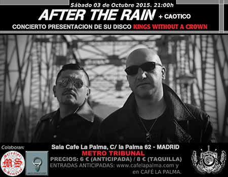 After The Rain + Caótico 3-10-15